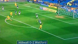 Gól Matěje Vydry proti Millwallu