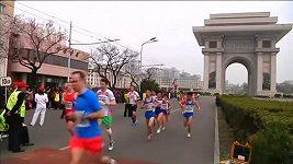 Maratón v Pchjongjangu