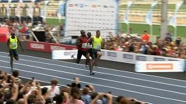 Usain Bolt vyhrál sprint na 100 metrů v Rio de Janeiru