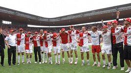 Slavia pokřtila nový Eden titulem