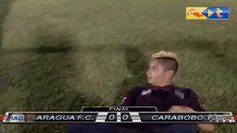 Fanoušek ve Venezuele napadl hráče