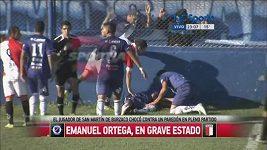 Hráč v Argentině si prorazil lebku