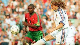 Mistrovství Evropy 1996 Česko - Portugalsko