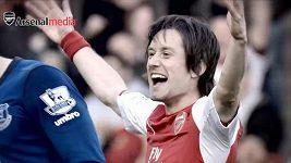 Rosický prodloužil smlouvu v Arsenalu.