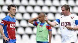 Dobrovolný trénink české fotbalové reprezentace