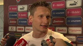 Milan Škoda před zápasem s Islandem