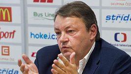 Tisková konference k odvolání trenéra Růžičky