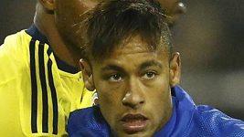 Rvačka po zápase Copy Ameriky - Kolumbie: Brazílie