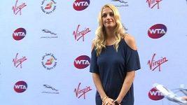Světové tenistky se představily před Wimbledonem na party v Londýně