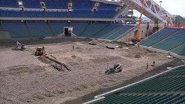 Rekonstrukce olympijského stadiónu v Soči