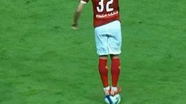 Červená karta v egyptské fotbalové lize