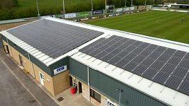 Forest Green Rovers chce být nejzelenějším fotbalovým klubem na světě