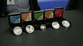 Pamětní medaile a známky k OH v Riu