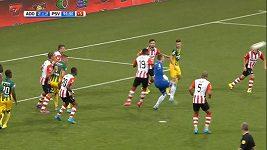 Nevídaný gól brankáře Den Haagu