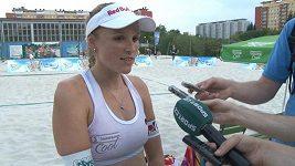 Kristýna Kolocová po prvním zápase s Hanou Skalníkovou