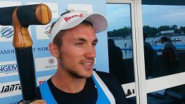 Martin Fuksa - kanoista, mistr světa na 500 metrů