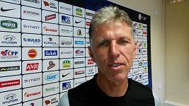 Trenér Jablonce Šilhavý před odvetou s Ajaxem
