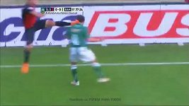 Brutální faul v argentinské lize