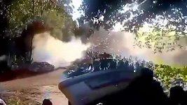 Nehoda na Rallye La Coruňa.