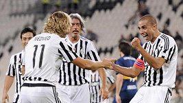 Legendy Juventusu i s Nedvědem hrály proti Boce Juniors