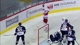 Premiérový gól Lukáše Radila v KHL