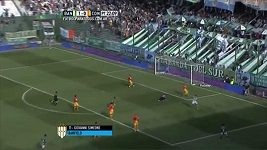 Parádní kombinace v argentinské fotbalové lize
