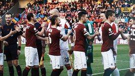 Slavia - Sparta: Z obou břehů