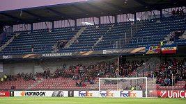 Kotel fanoušků Sparty zůstal na úvodní domácí zápas EL prázdný