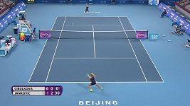 Dominika Cibulková promáchla nalitý míč.