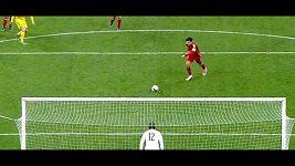 Fábregasova neproměněná penalta.