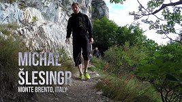 BASE jump Michala Šlesingra na Monte Brento