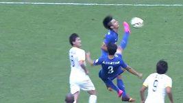 Strašidelný zákrok v čínské fotbalové Superlize