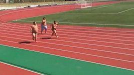 Sprint zápasníků sumo