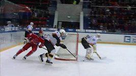 Vlastní gól Vadima Kudaka v KHL