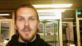 Ondřej Švejdík před zápasem s Groningenem