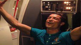 Zpívající Cristiano Ronaldo