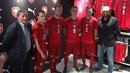 Nové dresy fotbalové repre