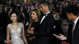 Ronaldo se v Londýně zúčastnil premiéry filmu o sobě