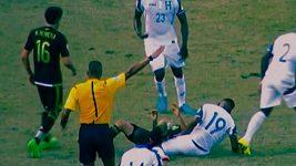Drastické zranění Luise Garrida