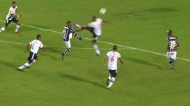 Faul Rodriga v brazilské fotbalové lize