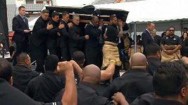 Pohřeb ragbisty Jonaha Lomu