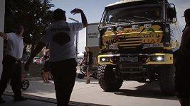 Dakar - přejímka vozů