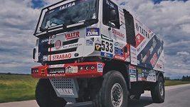 Martin Kolomý na Dakaru