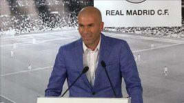 Zidane po nástupu do funkce trenéra Realu Madrid