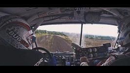 Martin Kolomý při 3. etapě Rallye Dakar