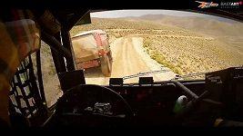 Martin Macík jr. popisuje 7. etapu na Rallye Dakar.