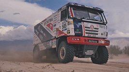 Jaroslav Valtr a spol. při 8. etapě Rallye Dakar.
