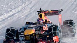 Formule 1 na sjezdovce v Kitzbuhelu