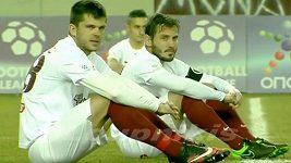 Protest fotbalistů v Řecku