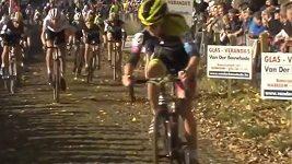 Femke van den Driesschová v jednom z předchozích závodů
